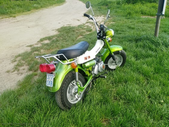 Rv50 1974 in Candylime green